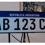 Mercosul apresenta nova placa unificada para veículos
