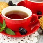Chá de amora emagrece, previne e combate doenças