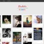 Design - PicShots Light Responsive Blogger Template