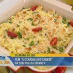 Macaroni and cheese receita Edu Guedes Hoje em Dia 09/10/2014