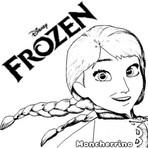 Pintura - Desenhos Colorir Frozen