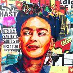 Pintura - Belos grafites feitos em homenagem as mulheres