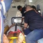 Itapetinga:Jovem perde controle de moto e bate em estaca de cerca