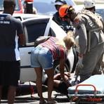 O jogador Henrique lateral do Vasco sofre acidente de carro