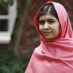 Internacional - Malala Yousafzai foi agraciada com o Prêmio Nobel da Paz