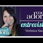 Entrevista com Verônica Sacer falando sobre seu primeiro CD