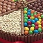 Bolo de Chocolate com Guloseimas