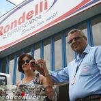 Itapetinga Rondelli Supermercados Faz Entrega de Carro  Fiat Palio Fire 1.0 0 km à Ganhadora Itapetinguense