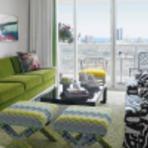 Decoração de interiores em verde