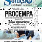 Apostila PROCEMPA 2014 - Técnico Administrativo