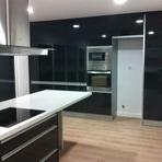Cozinha lacada preto