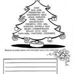 Atividades com Arvores de Natal Escolares