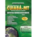 Apostila Auditor Fiscal Tributario da Receita Municipal - Cuiabá MT (3 Volumes)
