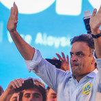 Eleições 2012 - Aécio promete combater ataques e diz: 'Quinze dias nos separam da libertação'