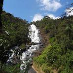 Turismo - Cachoeira dos Pretos a maior do Estado de São Paulo com 154 metros