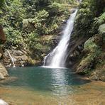 Cachoeira da Lagoa Azul em Cubatão