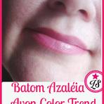 Moda & Beleza - Resenha: Batom Azaléia da Avon Color Trend