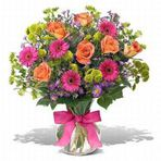 Flores em vasos, beleza viva