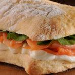 Receitas lanche receita fácil lanche saudável com Pão Ciabatta