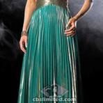 Vestidos plissados moda festa 2015