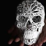 Açúcar vira esculturas impressas em 3D