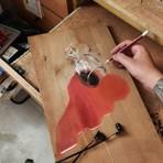 Artista cria inacreditáveis pinturas em madeira que são verdadeiras ilusões de ótica!