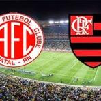 Assista América/RN X Flamengo online nesta quarta (15), às 22:00 horas
