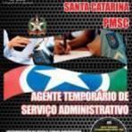 Apostila Polícia Militar PM-SC 2014 - Agente Temporário de Serviço Administrativo[CD Grátis]