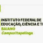 Campus do IF Baiano em Itapetinga abre inscrições para Processo Seletivo 2015
