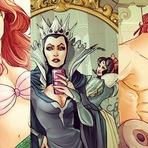 Personagens da Disney fazem parte do nosso mundo obcecado-selfie