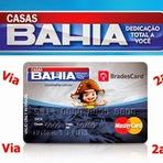Emitir 2ª Via da Fatura do Cartão Casas Bahia BradesCard
