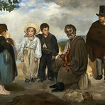 Pintura - National Gallery of Art: O Velho Músico (1862)