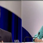 Transmissão ao Vivo do Debate entre Dilma Rousseff e Aécio Neves do Uol