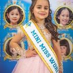 Brasileira de Santa Catarina é eleita Mini Miss Mundo