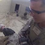 Capacete salva fuzileiro americano de tiro da cabeça