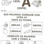 Curiosidades - Atividades com A letra A para Imprimir