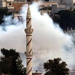 Internacional - Ataques aéreos dos EUA em alvos ISIS em Kobane