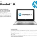 Produtos - Novo HP Chromebook 11 G3