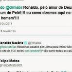 Opinião - Ronaldo Fenômeno é motivo de chacota na rede social! Ele defendeu o Aécio Neves