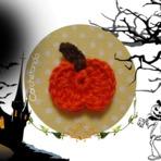 Tiny Pumpkin Applique - Aplique Abóbora Tiny