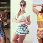 Shorts saia feminino modelo fitness 2015