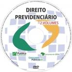 DVD Direito Previdenciário para Concurso do Inss