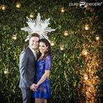Celebridades - Michel Teló se casou com a atriz Thais Fersoza