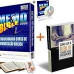 Combo: O Curso de Memorização da Bíblia! + Ebook Como Ler a Bíblia e Entendê-la Mais Facilmente
