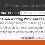 Petroleiras Americanas apoiando Aécio Neves, que promete Mudar a Lei de Partilha.