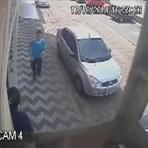 Pintura - Polícia divulga imagens de suspeito de estuprar adolescente em Balneário Camboriú