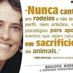 Animais - Cantora Zélia Duncan Se manifesta contra o Rodeio