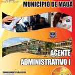 APOSTILA PREFEITURA DE MAUÁ AGENTE ADMINISTRATIVO I 2014
