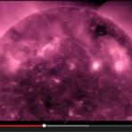 """Vídeo """"impressionante"""" do SOL que você nunca esquecerá"""
