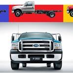 Ford relança Série F (F350, F4000 e F4000 4x4)
